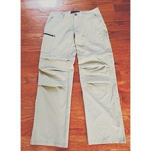 EMS Sz 8R Women's Convertible Cargo Pants Sage Grn